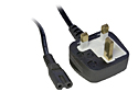 3M Figure 8 Mains Power Cable - Black