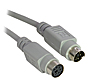 2M PS/2 Extension Cable - Male to Female