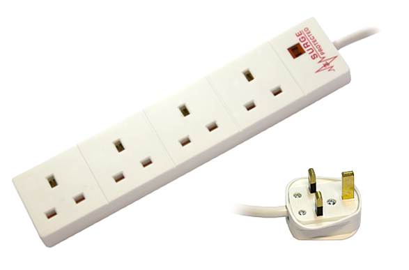 4 Way Anti Surge Strip - 2M
