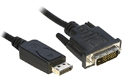 1.8M Display Port to DVI Cable / Adaptor