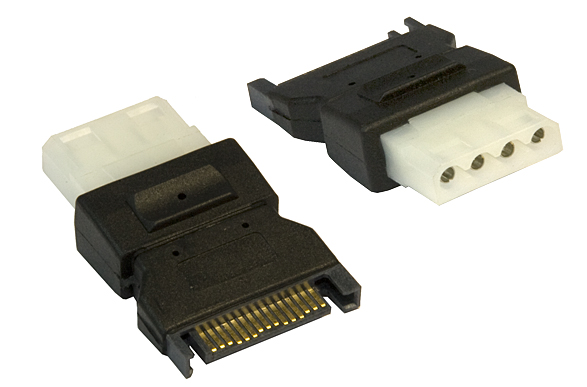 Serial ATA SATA to Molex HDD Power Adaptor