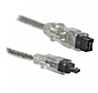 Firewire 800 9 Pin to 4 Pin - 2M (Silver)