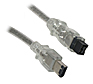 Firewire 800 9 Pin to 6 Pin - 2M (Silver)