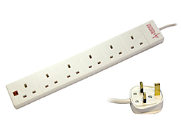 6 Way Anti Surge Strip - 2M