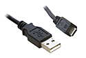 0.5M USB 2.0 A to Micro B Cable (Black)