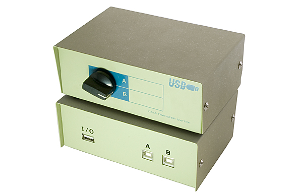 USB 2 Way Printer Share Switch