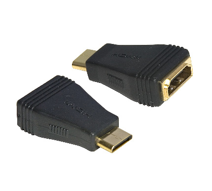 HDMI A Female to HDMI Mini C Male Adaptor