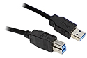 2M USB 3.0 A to B SuperSpeed Cable